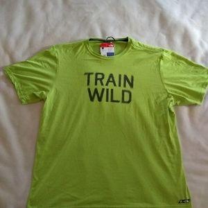 """NWT The North Face """"Train Wild"""" tech t-shirt"""